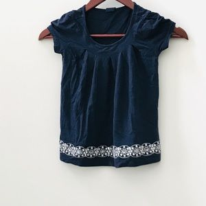 Gap kids navy blue shirt